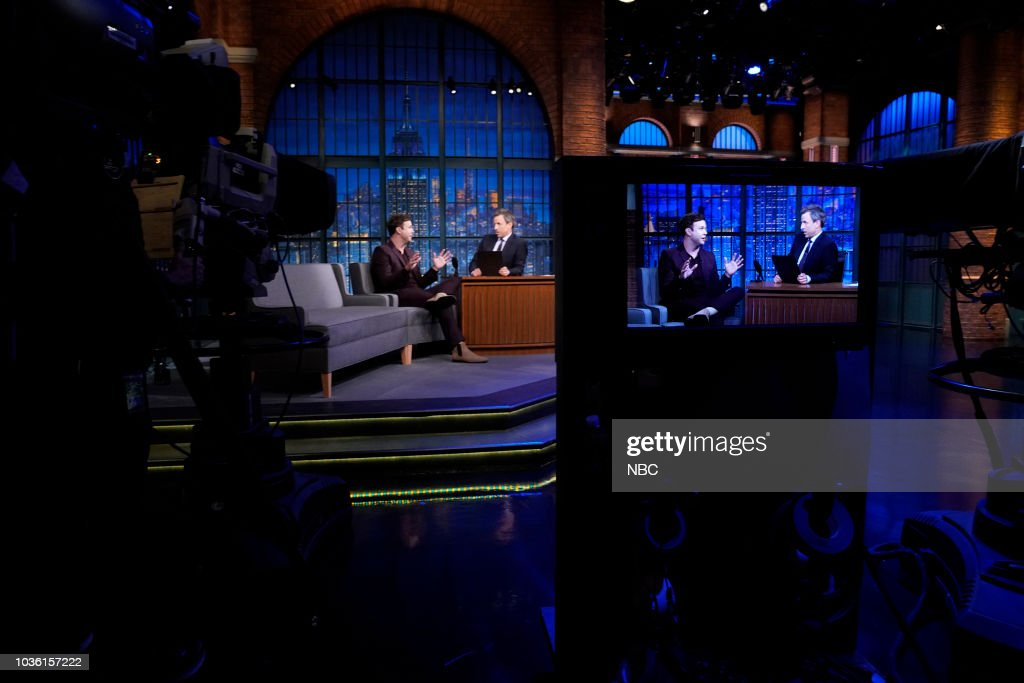 "NBC'S ""Late Nigh with Seth Meyers"" With Guest Matthew McConaughey, Taran Killam, Lady Antebellum"