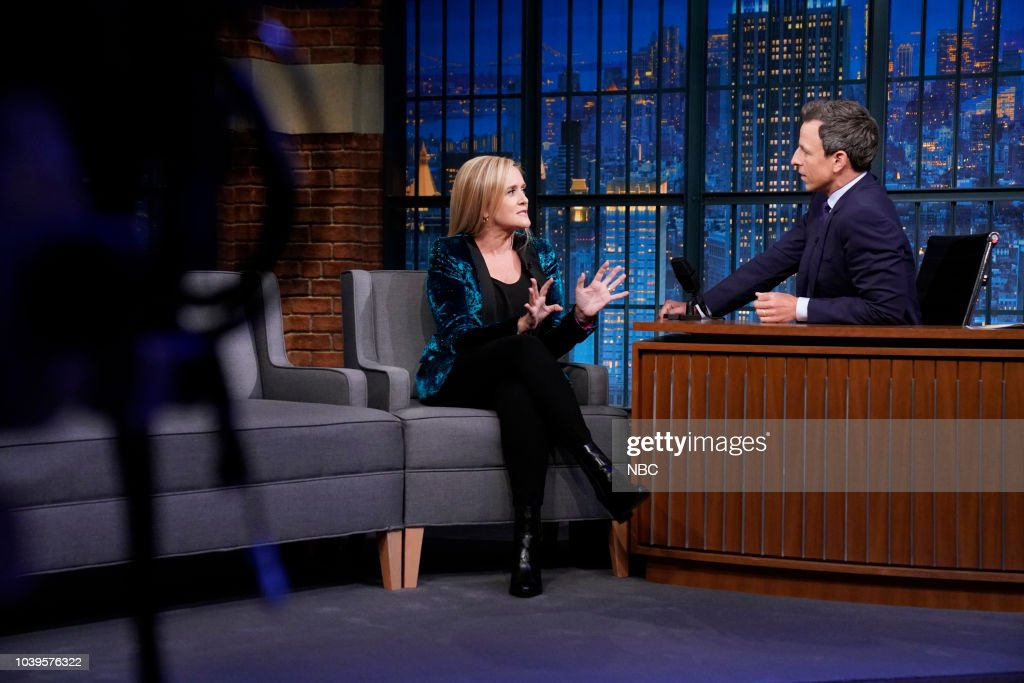 "NBC'S ""Late Night With Seth Meyers"" With Guests Samantha Bee, Ron Livingston, Portugal. The Man"