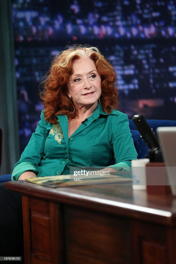 Bonnie Raitt during an interview on December 4, 2012 --