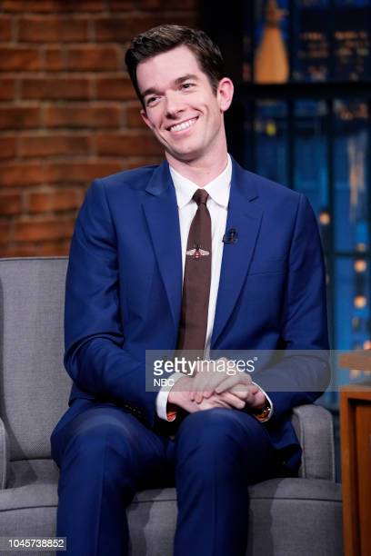 Comedian John Mulaney during an interview on October 4 2018