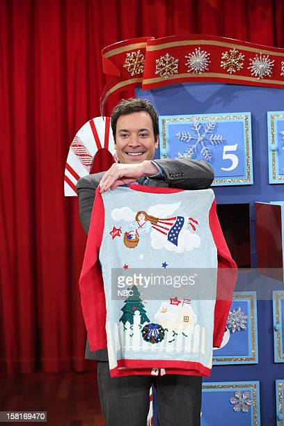 Host Jimmy Fallon during a skit on December 10 2012