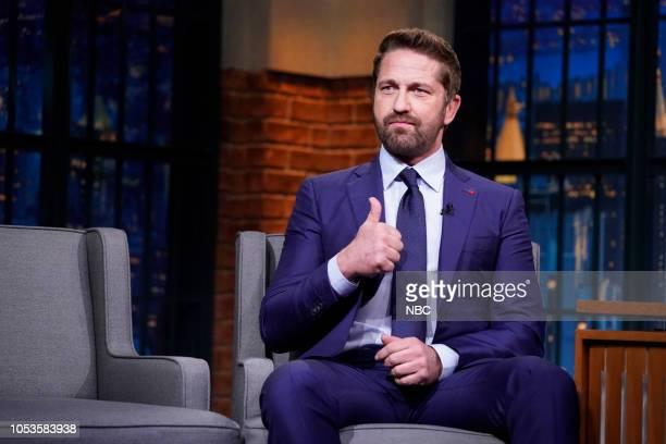 Actor Gerard Butler on October 25 2018