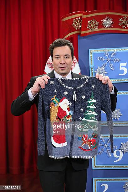 Host Jimmy Fallon during a skit on December 11 2012