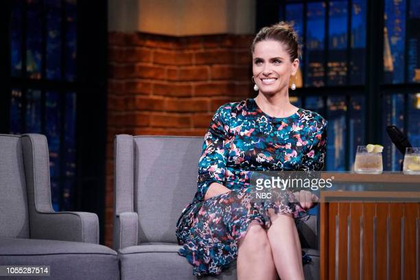 Actress Amanda Peet on October 29 2018