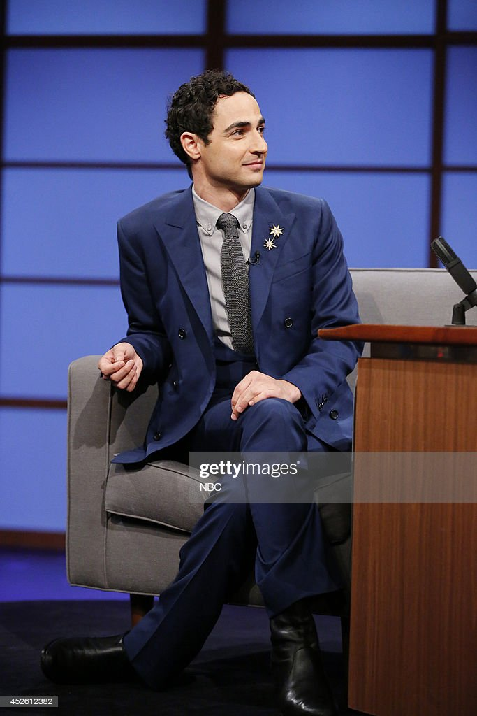 Fashion Designer Zac Posen During An Interview On July 24 2014 News Photo Getty Images