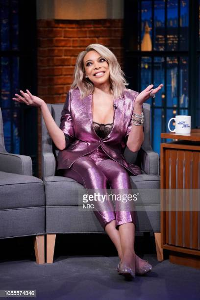 Talk show host Wendy Williams on October 30 2018