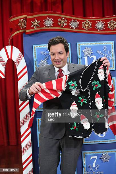 Host Jimmy Fallon during a skit on December 14 2012