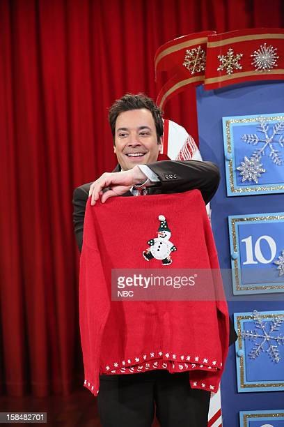 Host Jimmy Fallon during a skit on December 17 2012