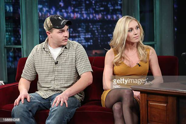 Episode 757 -- Pictured: Shain Gandee and Shae Bradley during an interview on January 2, 2013 --
