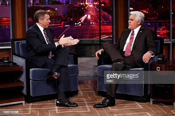NBC Nightly News anchor Brian Williams during an interview with host Jay Leno on January 8 2010