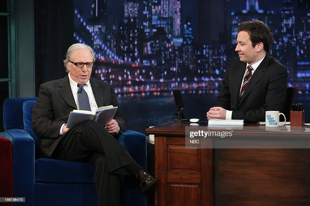 Ian Frazier during an interview with host Jimmy Fallon on January 8, 2013 --
