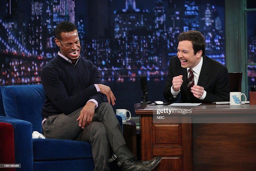 Marlon Wayans during an interview with host Jimmy Fallon on January 8, 2013 --