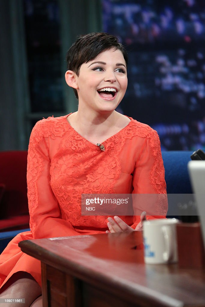 Ginnifer Goodwin during an interview on January 9, 2013 --
