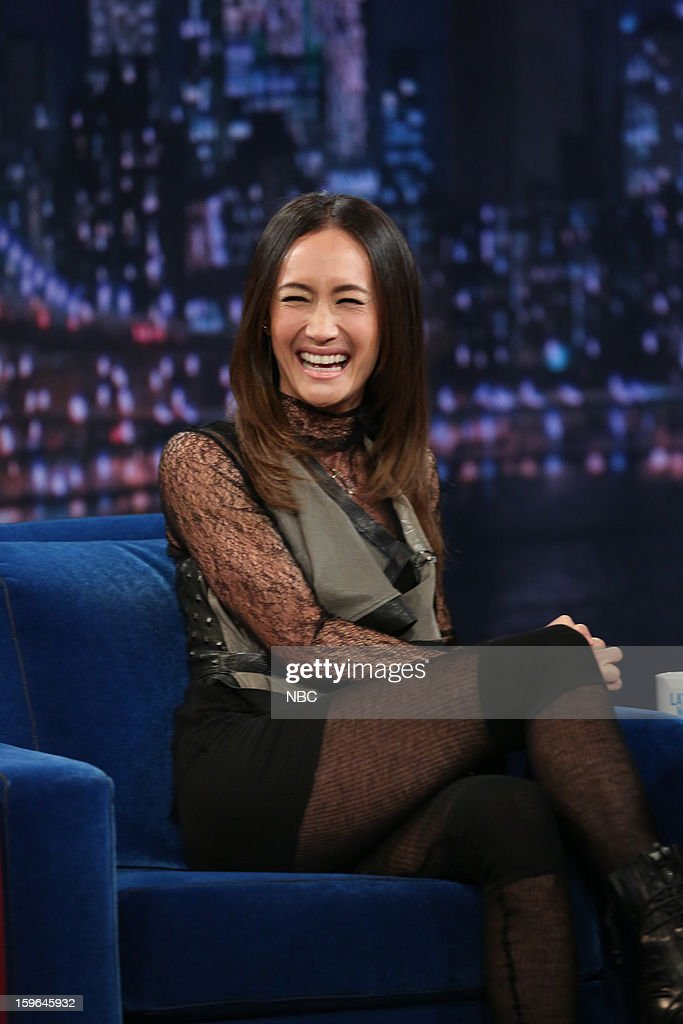 Maggie Q on January 17, 2013 --