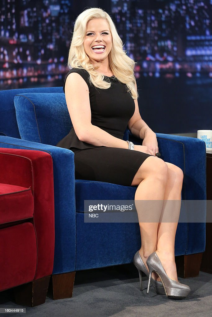 Actress/singer Megan Hilty during an interview on January 31, 2013 --