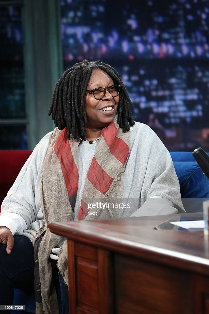 Talk show host/actress/comedian Whoopi Goldberg on February 6, 2013 --