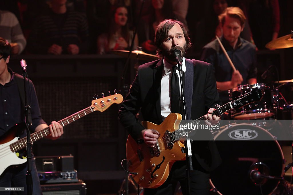 Musical guest Matt Pond PA on February 7, 2013 --