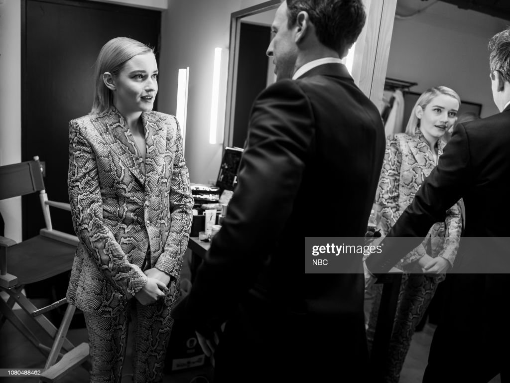 Late Night with Seth Meyers - Season 6 : News Photo