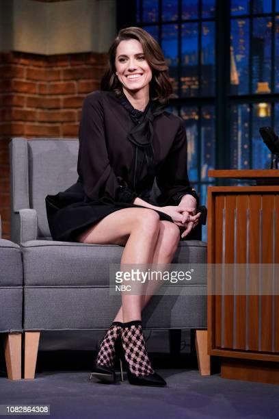 Actress Allison Williams on January 14 2019