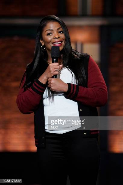 Episode 782 -- Pictured: Comedian Janelle James performs on January 15, 2019 --
