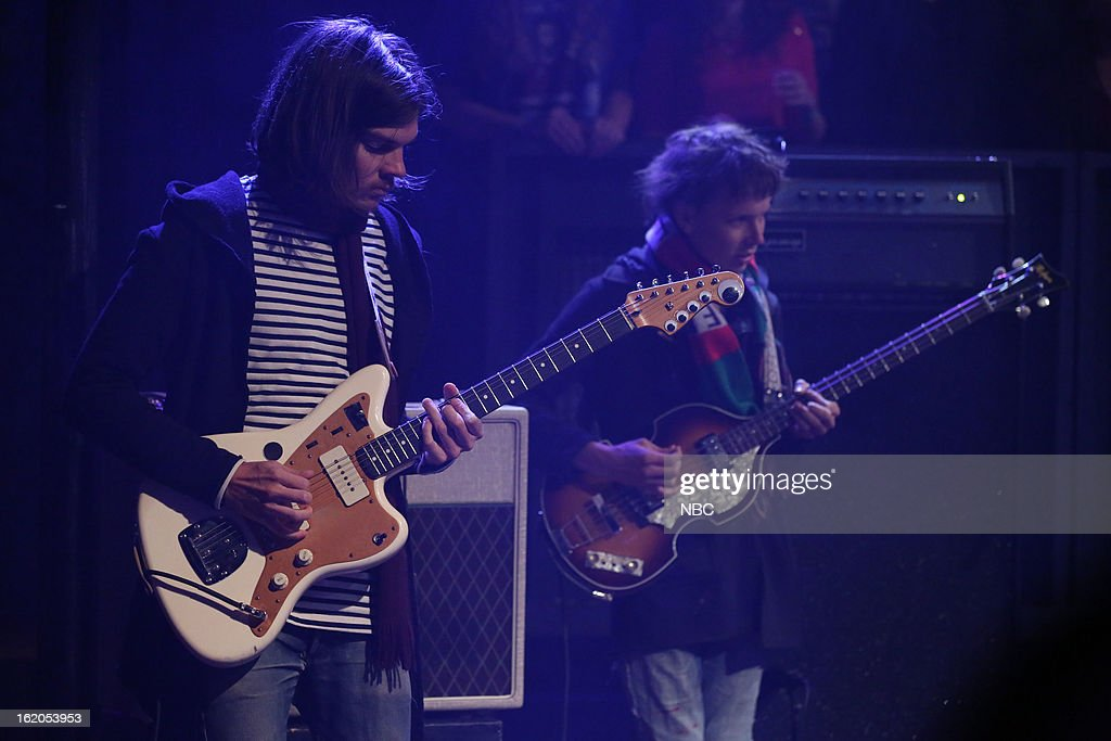 Musical guest Tame Impala on February 18, 2013 --