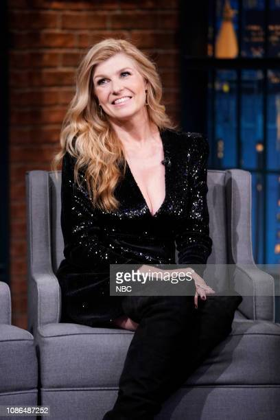 Actress Connie Britton on January 22 2019