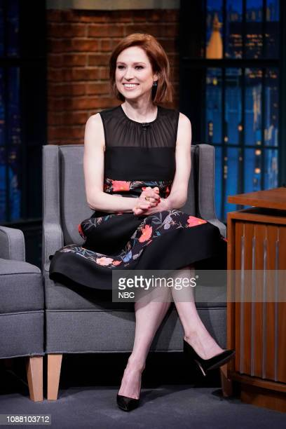 Episode 788 -- Pictured: Actress Ellie Kemper on January 24, 2019 --