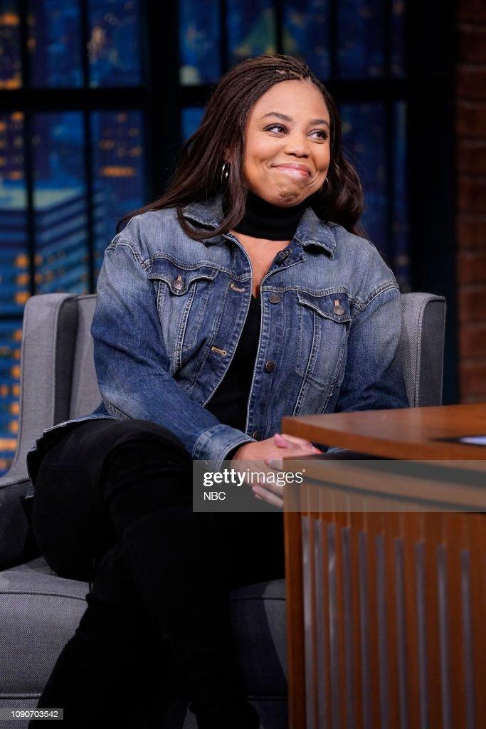 "NY: NBC's ""Late Night With Seth Meyers"" With Guests Alan Cumming, Jemele Hill, Maia Mitchell & Cierra Ramirez"