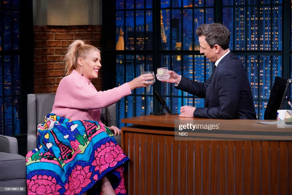 "NY: NBC'S ""Late Night With Seth Meyers"" With Guests Michael Moore, Busy Philipps, Conan Gray (Band Sit In: Brendan Buckley)"