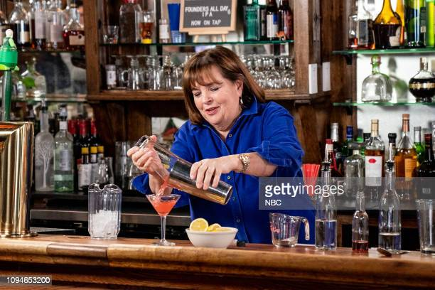 Ina Garten during Seth Goes Day Drinking with Ina Garten on February 6 2019