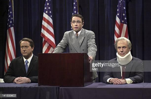 LIVE Episode 8 Air Date Pictured Darrell Hammond as Vice President Al Gore Chris Kattan as Sydney Shiner Chris Parnell as Senator Joe Lieberman...
