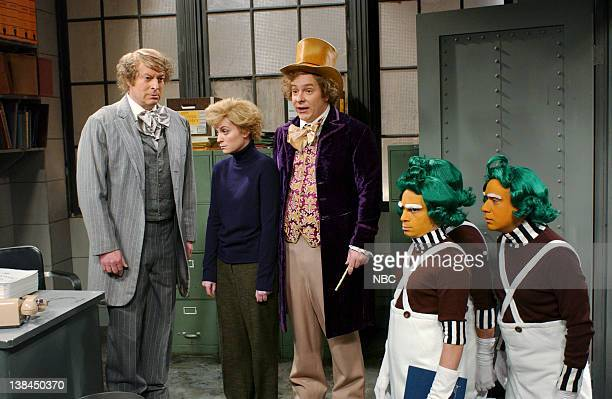 LIVE Episode 8 Aired Pictured Al Gore as Glenn Wonka Amy Poehler as Charlie Bucket Jeff Richards as Gene Wilder chris kattan Fred Armisen as Oompa...