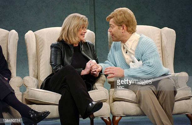 LIVE Episode 8 Aired Pictured Tipper Gore Al Franken as Stuart Smalley during Daily Affirmation skit on December 14 2002