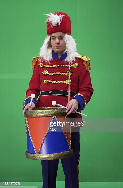 LIVE Episode 8 Aired Pictured Jimmy Fallon as nutcracker during 'Trimming the Tree' skit on December 16 2000