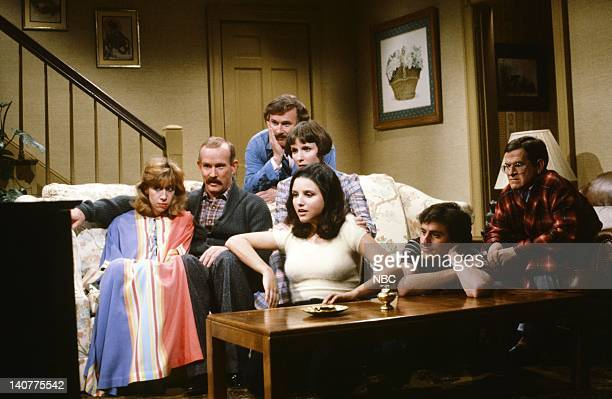 Back Dick Smothers as Brother Middle Robin Duke as Mrs Greenfield Tom Smothers as Father Mary Gross as Mother Front Julia LouisDreyfus as Jane Gary...