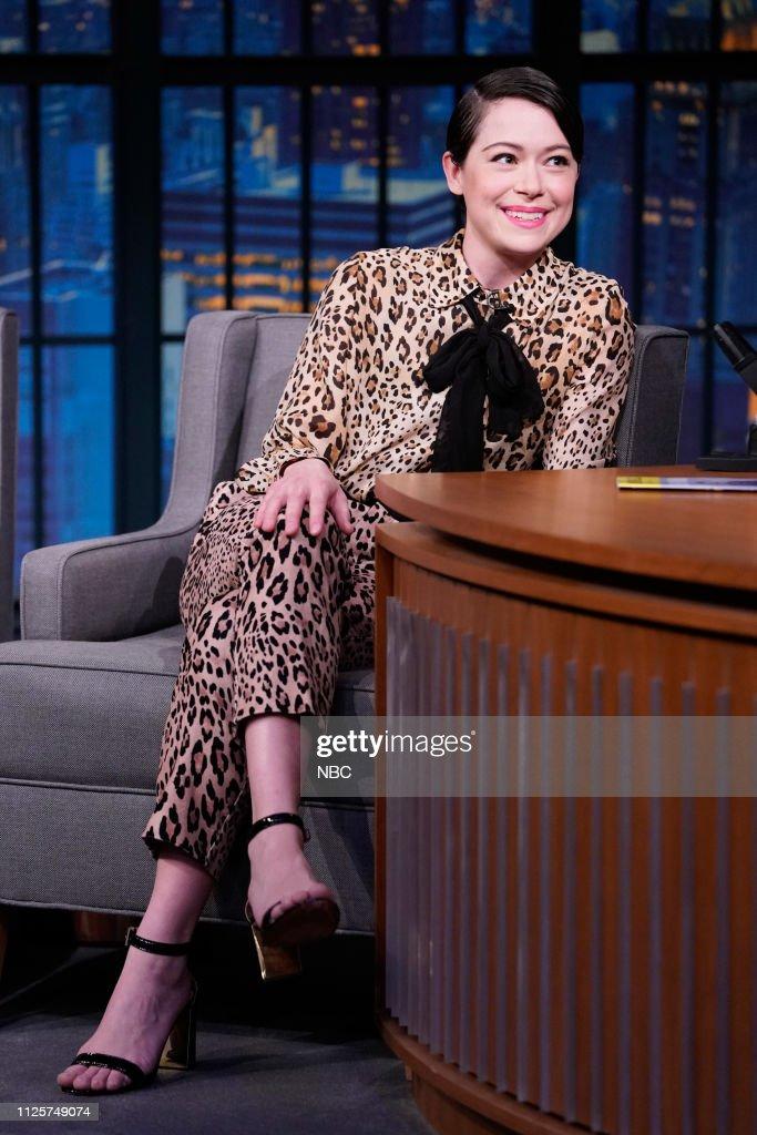 "NY: NBC'S ""Late Night With Seth Meyers"" With Guests John Oliver, Tatiana Maslany, ST. PAUL & THE BROKEN BONES"