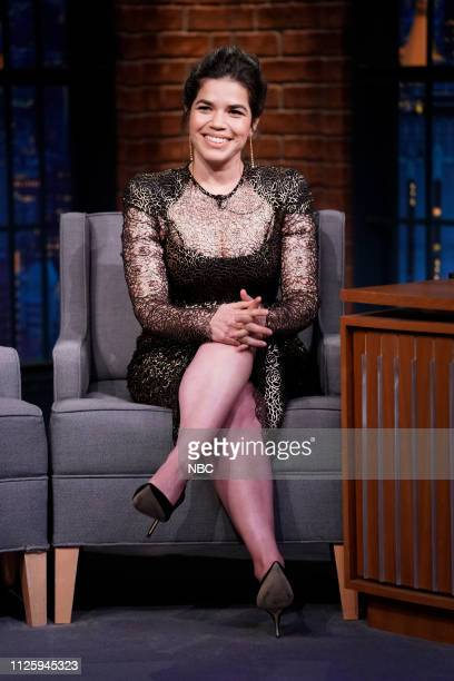 Actress America Ferrera on February 19 2019