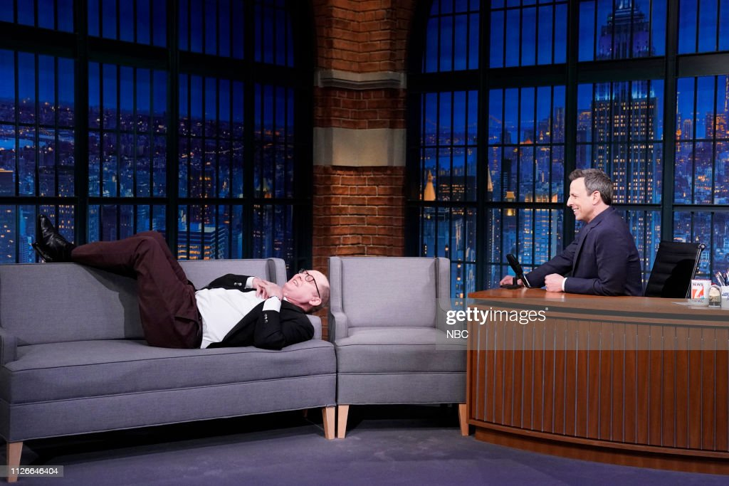 "NY: NBC'S ""Late Night With Seth Meyers"" With Guests James Spader, Glenda Jackson, Brad Leone (Band Sit In: Jeff Friedl)"