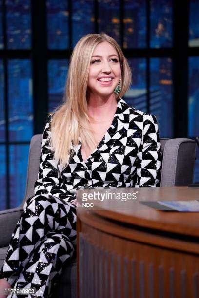 Actress/comedian Heidi Gardner during an interview on February 26 2019