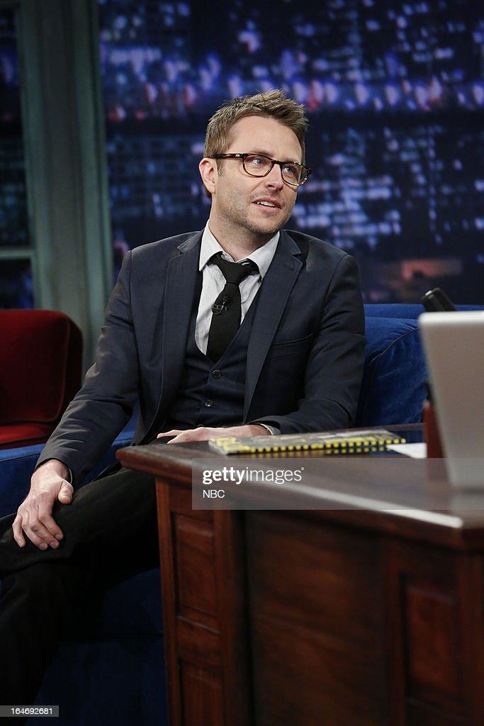 TV host/comedian Chris Hardwick on March 26, 2013 --