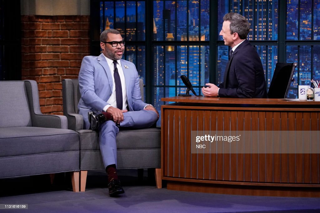 "NY: NBC'S ""Late Night With Seth Meyers"" With Guests Jordan Peele, Phoebe Waller-Bridge, Action Bronson"