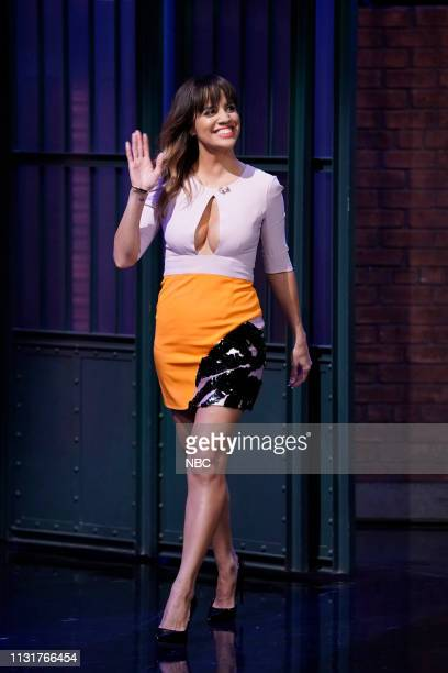 Actress Natalie Morales arrives on March 20 2019