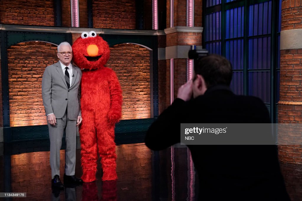 """NY: NBC'S """"Late Night With Seth Meyers"""" With Guests Steve Martin, Susan Kelechi Watson (Band Sit In: Aaron Comess)"""