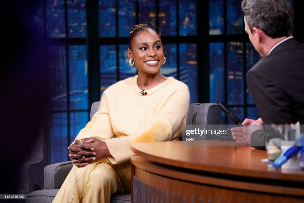 "NY: NBC'S ""Late Night With Seth Meyers"" With Guests Issa Rae, Timothy Simons, Rachael Ray (Band Sit In: Aaron Comess)"