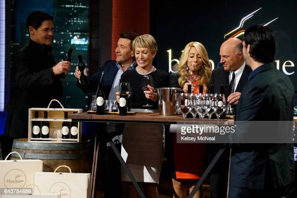 TANK 'Episode 819' An entrepreneur from Santa Maria California shows the Sharks his product that takes the love of wine to the next level an...