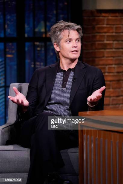 Actor Timothy Olyphant during an interview on April 9 2019