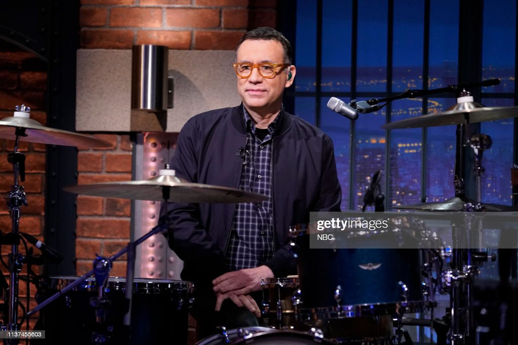 """NY: NBC'S """"Late Night With Seth Meyers"""" With Guests Tracy Morgan, Willie Geist, Ingrid Andress"""