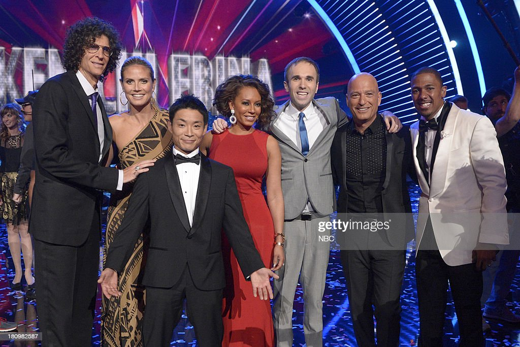 Howard Stern, Mel B, Kenichi Ebina, Mel B, Taylor Williamson, Howie Mandel, Nick Cannon --