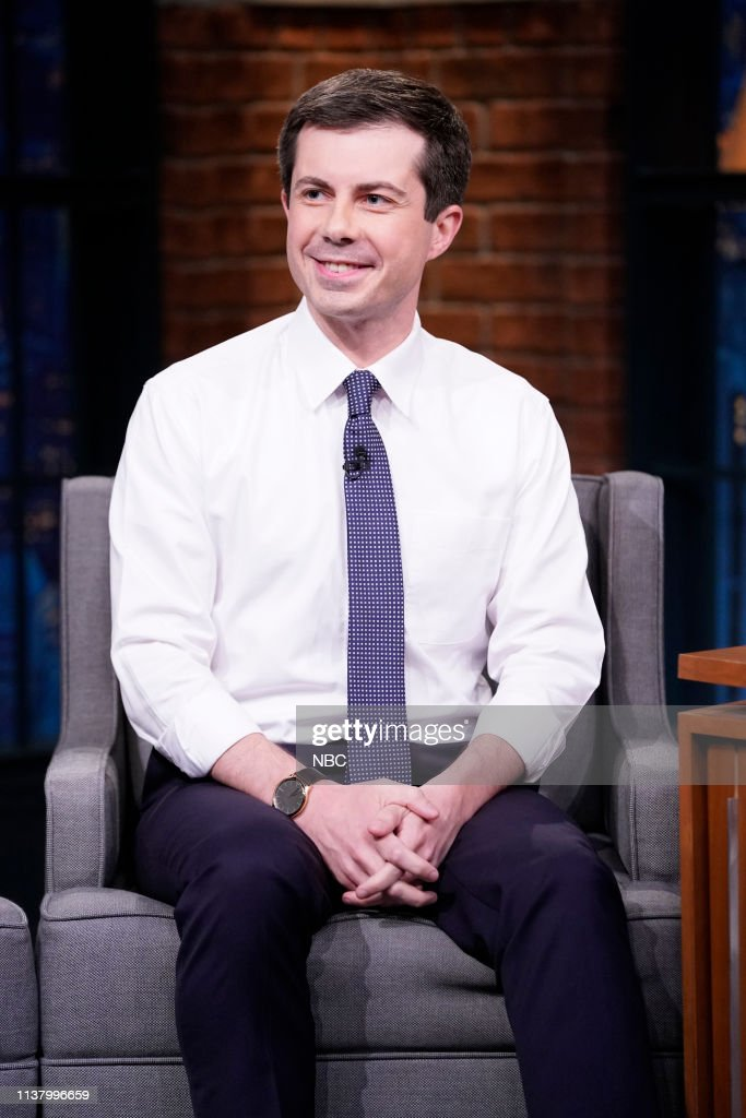 "NY: NBC'S ""Late Night With Seth Meyers"" With Guests Amy Sedaris, Mayor Pete Buttigieg, Toro Y Moi"