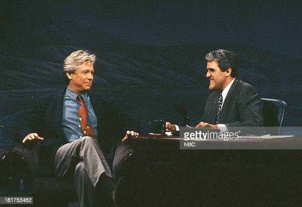 Actor Bruce Davison during an interview with host Jay Leno on October 1 1992